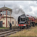 Duchess of Sutherland at Swanwick Junction