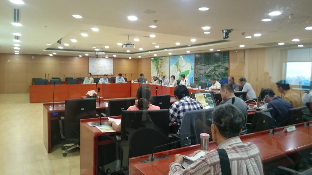 樹保會議上,副市長葉惠青承諾加強各機關間的橫向溝通。賴品瑀攝。