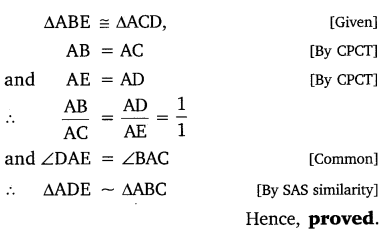 NCERT Solutions for Class 10 Maths Chapter 6 Triangles 34