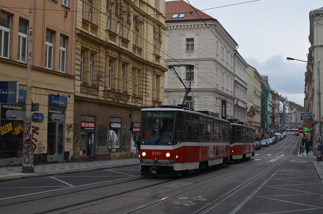 Straßenbahn in Prag