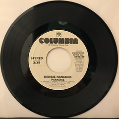 HERBIE HANCOCK:PARADISE(RECORD SIDE-A)