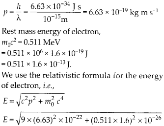 NCERT Solutions for Class 12 Physics Chapter 11 Dual Nature of Radiation and Matter 64