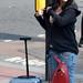 DSC_8585a London Bus Route #205 Shoreditch Great Eastern Street Lost Tourist Lady