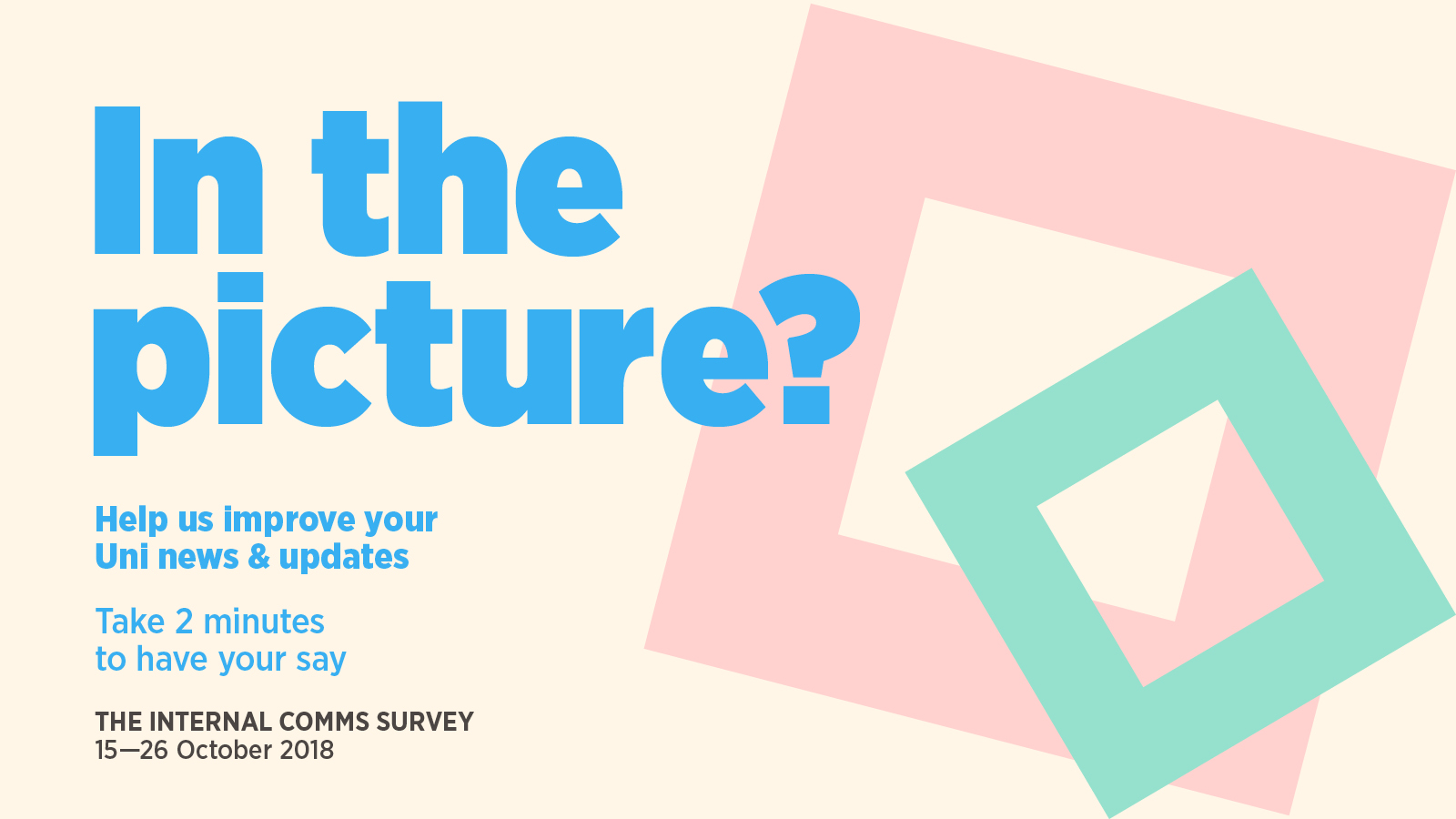Fill in the internal communications survey