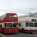 PMT L9766 766EVT & Portsmouth ERV250D Wirral Bus & Tram show, Birkenhead 7 October 2018