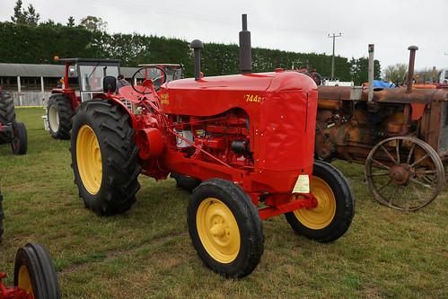 1952 Massey Harris 744D Tractor.