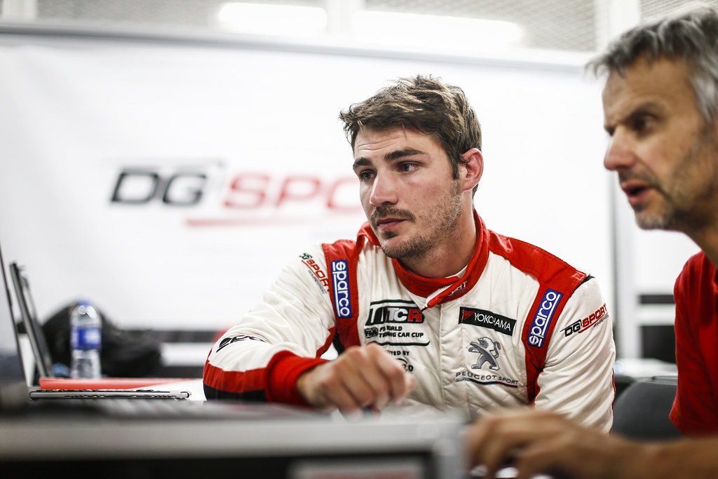 COMTE Aurelien, (fra),  eugeot 308 TCR team DG Sport Competition, portrait during the 2018 FIA WTCR World Touring Car cup of Japan, at Suzuka from october 26 to 28 - Photo Francois Flamand / DPPI