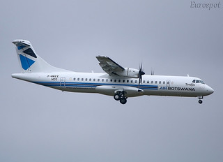 F-WWEE ATR72 Air Botswana. revised livery