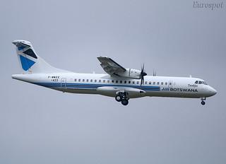 F-WWEE ATR72 Air Botswana. revised livery