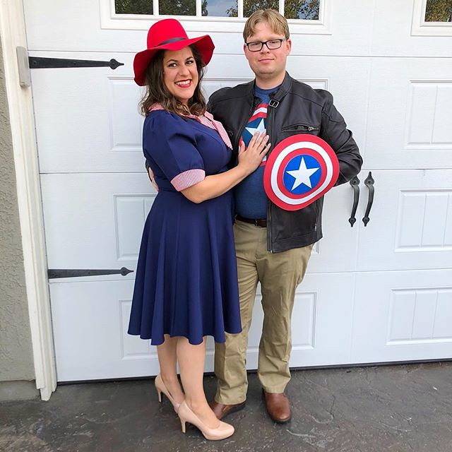 Agent Carter and Steve Rodgers