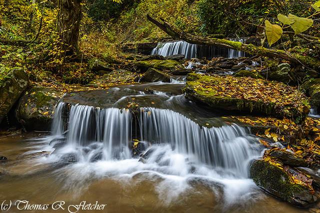 Barton Mill Run Waterfalls
