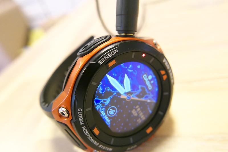 [カシオ]CASIO 腕時計 SmartOutdoorWatch WSD-F20専用充電ホルダー WSA-H1