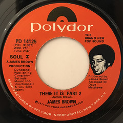 JAMES BROWN:THERE IT IS(LABEL SIDE-B)
