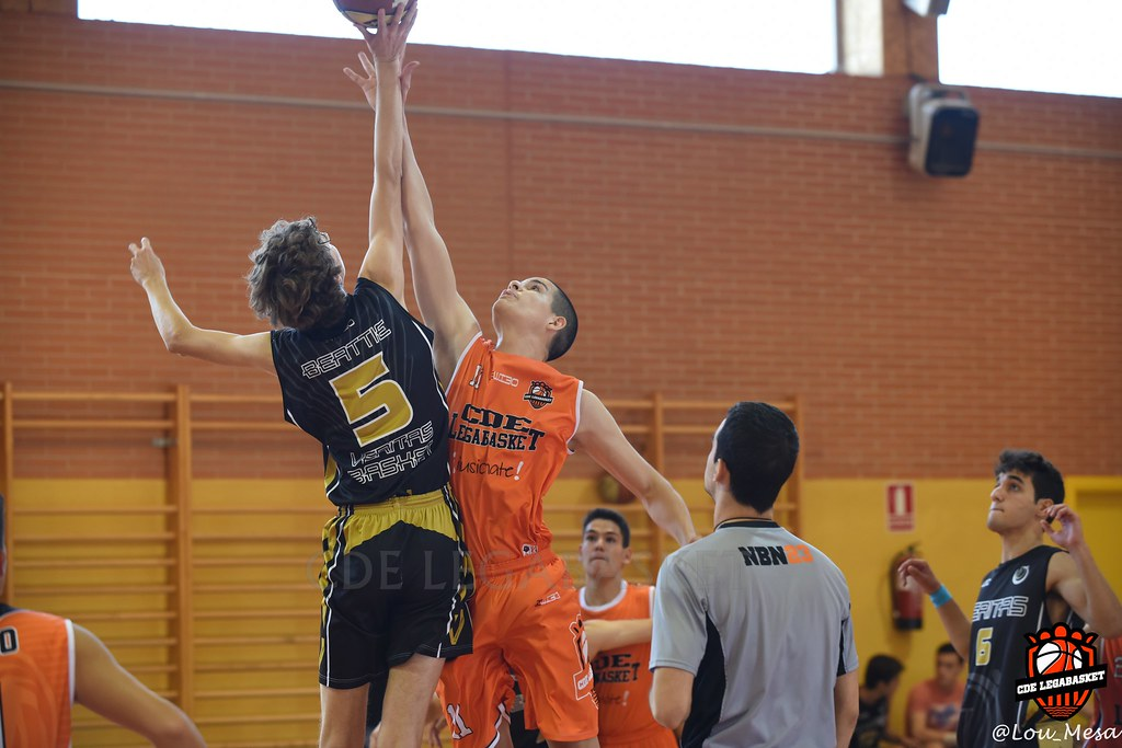29/09/2018.- Junior Naranja Masculino vs Basket Veritas