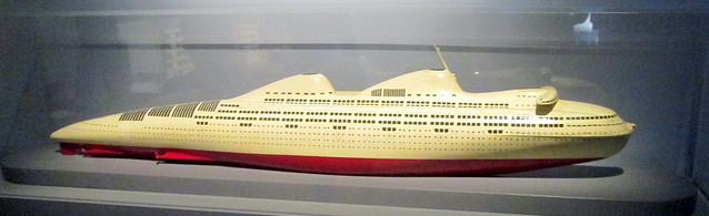Streamlined Ship Model