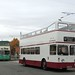 Portsmouth ERV250D Wirral Bus & Tram show, Birkenhead 7 October 2018