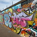 Graffiti street art on the Grand Union Canal (Digbeth Branch)
