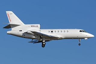 N504JS - Dassault Falcon 50 - myjetsaver - KORL - Oct 2018