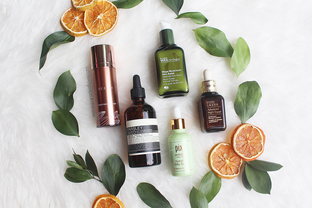 5 Face Serums I cannot live without
