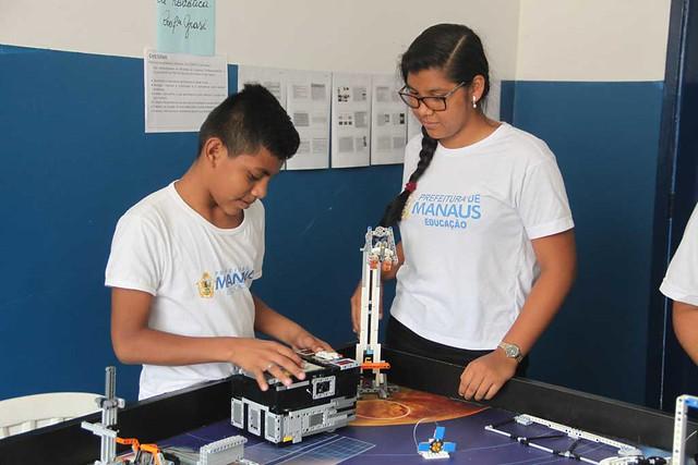 05.11.18 Escola Municipal Jorge Resende vai participar da etapa nacional da Olimpíada Brasileira de Robótica.