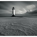 Talacre beach Lighthouse by shaunyoung365