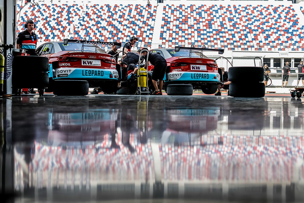 69 VERNAY Jean-Karl, (fra), Audi RS3 LMS TCR team Audi Sport Leopard Lukoil, 52 SHEDDEN Gordon, (gbr), Audi RS3 LMS TCR team Audi Sport Leopard Lukoil,  during the 2018 FIA WTCR World Touring Car cup of China, at Ningbo  from September 28 to 30 - Photo Marc de Mattia / DPPI