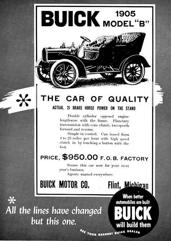 1905 Buick Model B