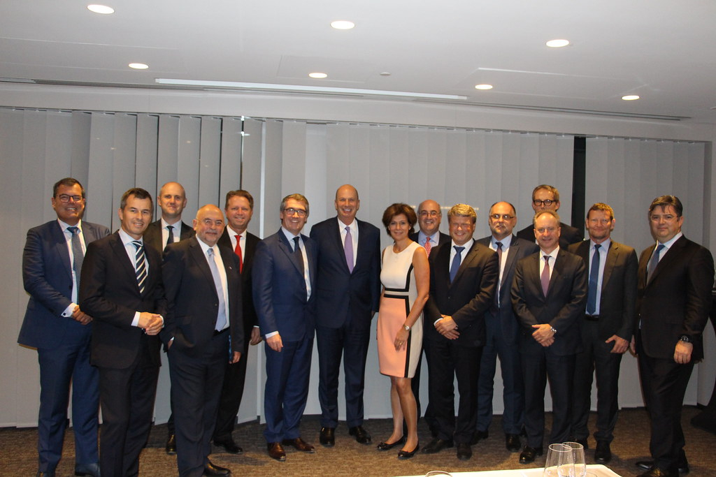 Executive Council members meet top EU and US officials in Brussels