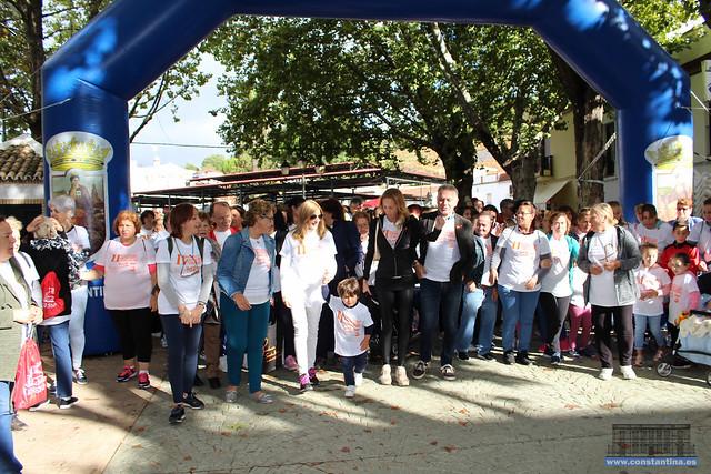 II Marcha frente al Cáncer Constantina 14/10/2018