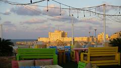 Alexandria, the Mediterranean Sea, Egypt.