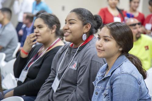 Tucson high school health care career fair.
