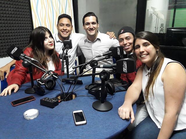 Los chicos de @UnPanaEnArgentina entrevistados en Entre Panas