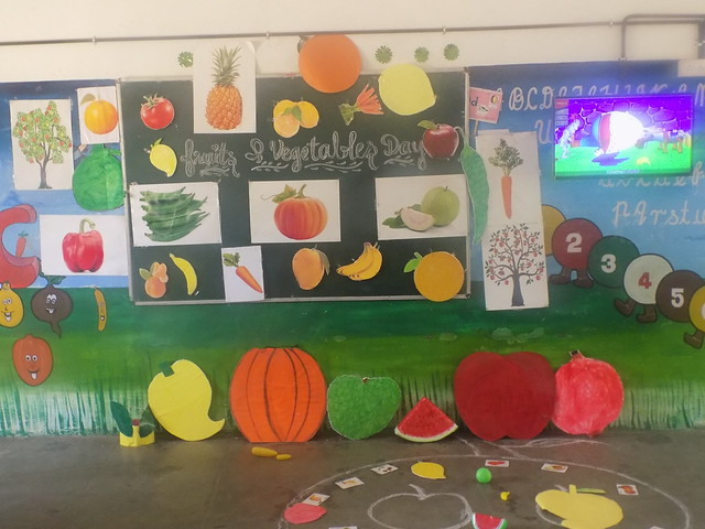 FRUITS AND VEGETABLE DAY ACTIVITY 2K18