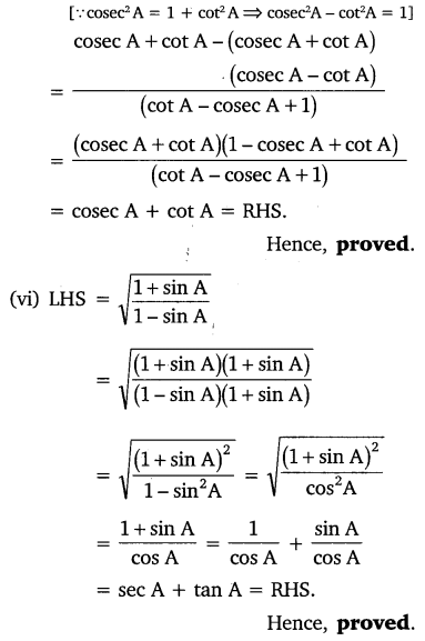NCERT Solutions for Class 10 Maths Chapter 8 Introduction to Trigonometry 47