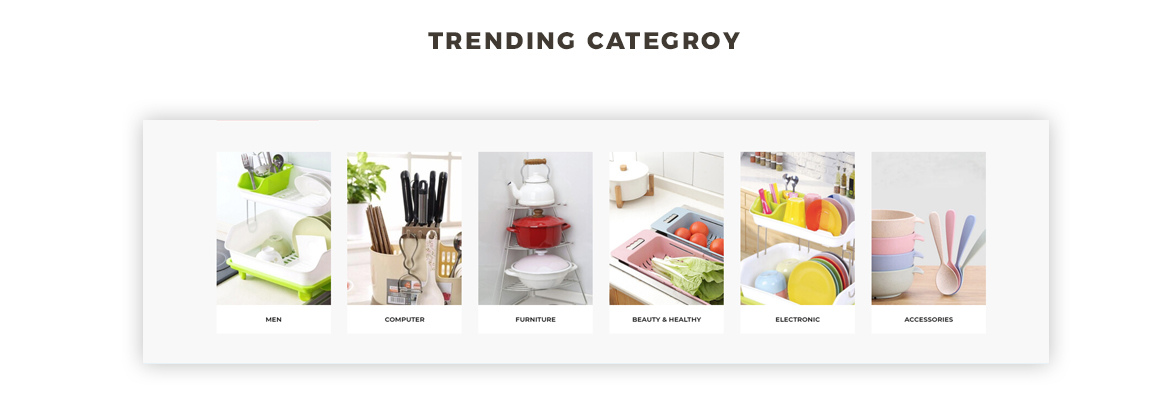 trending category - prestashop 1.7 theme for houseware, kitchenware store