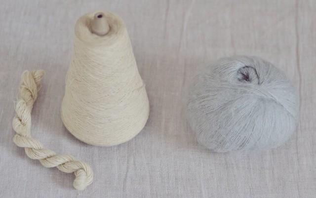 Teinture laine pull Enora