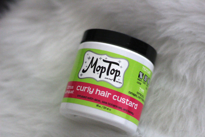 Moptop Curly hair custard