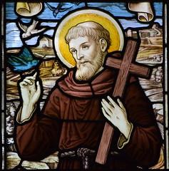 St Francis (A L Moore, 1927)