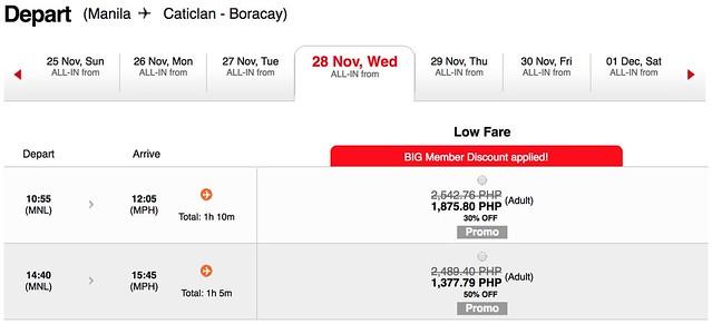 AirAsia Seat Sale Manila to Boracay