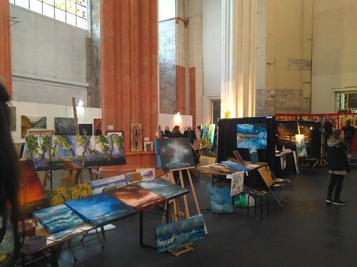 Galería de arte en Sint-Niklaaskerk
