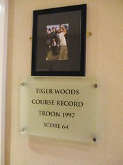 Troon Tiger Woods Plaque