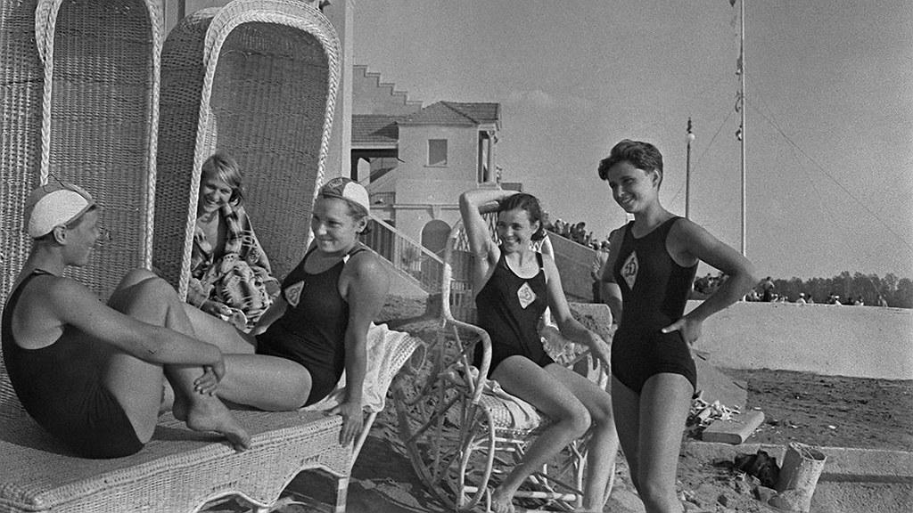 1930. Пляж в Химках