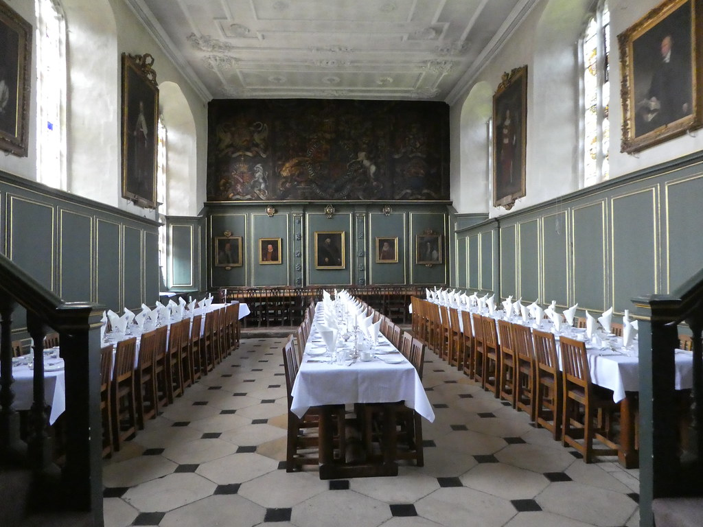 The formal dining hall, Magdalene College, Cambridge