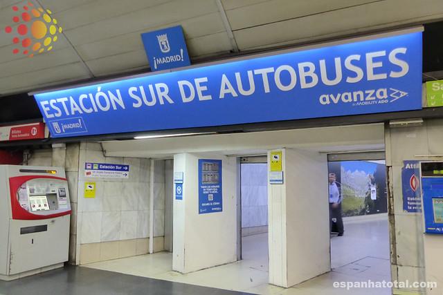 Estación Sur de Autobuses, Madrid