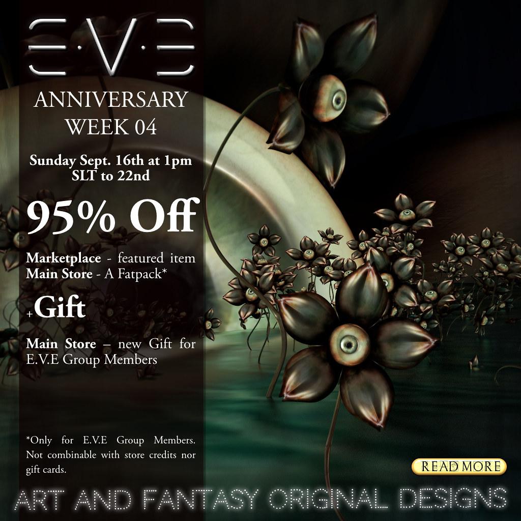 E.V.E Anniversary Week 04
