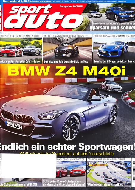 sport auto - 2018-10 - cover