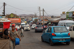 in den Strassen von Antananarivo