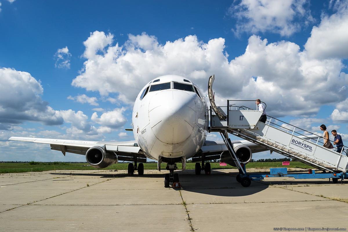 Аэропорт Борисполь покупает Boeing по имени «Янки»