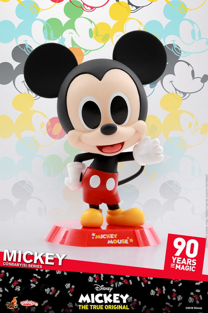 Hot Toys - COSB524 - COSB527【米奇90週年】Mickey 90th Anniversary Cosbaby (S) Series