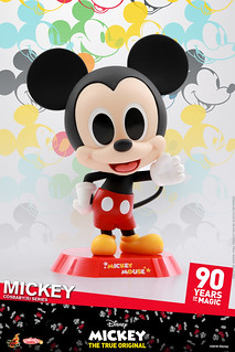 Hot Toys - COSB524 - COSB527 Mickey 90th Anniversary Cosbaby (S) Series